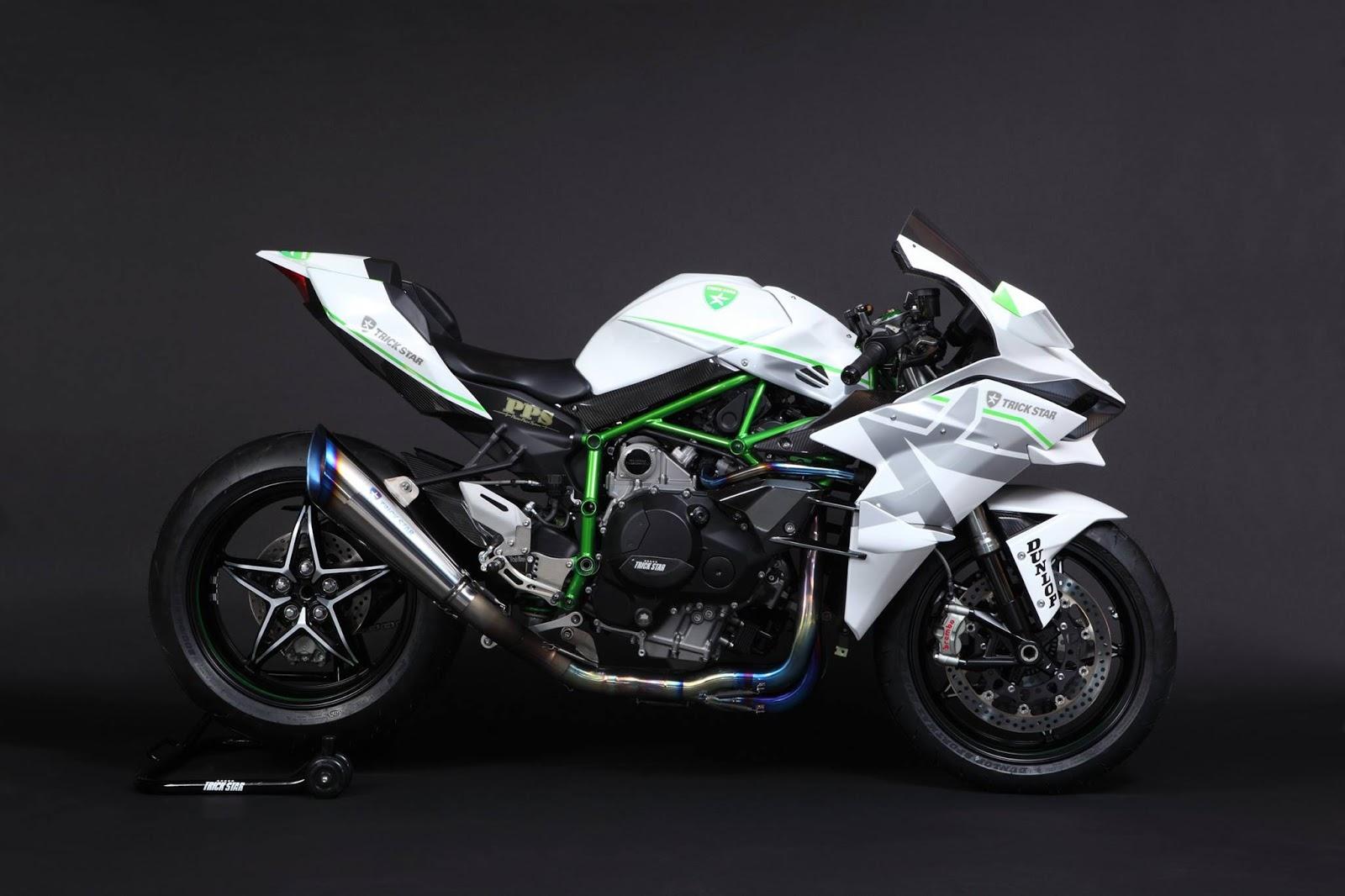 Kawasaki Ninja H2R By Trickstar Foto