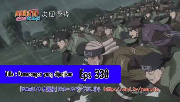 Naruto Episode 329 Planet Anime