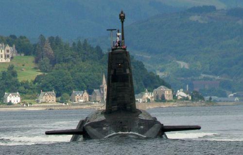 Kapal selam Inggris kelas Vanguard