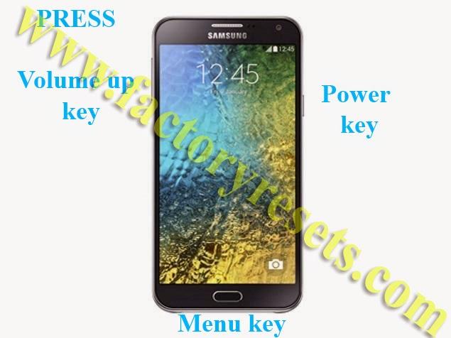Hard Reset Samsung Galaxy E7