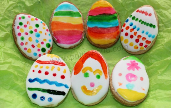 Painted Easter Cookies