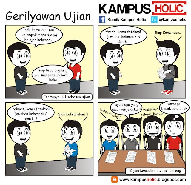 #068 Gerilyawan Ujian