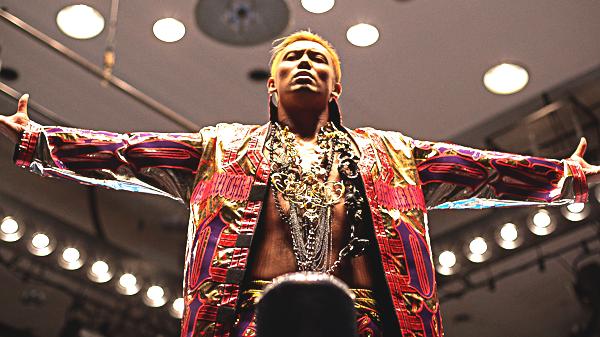 wrestling Kazuchika Okada NJPW star