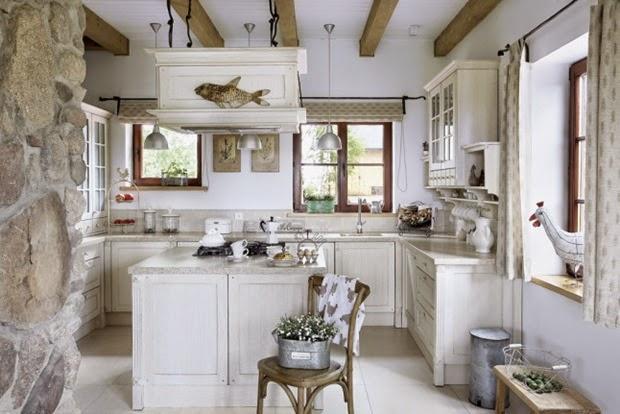 Inspiracje w moim mieszkaniu wiejski dom w stylu cottage French provence style homes