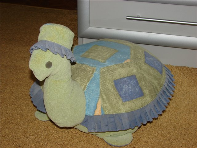 Как сшить подушку черепаху 91