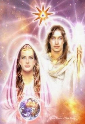 Lord Sanat Kumara si Lady Venus