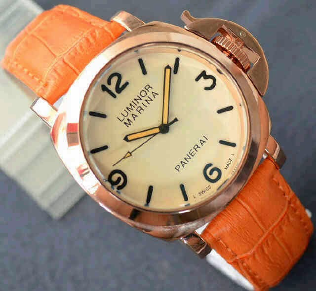 Luminor Marina Firenze Gold orange