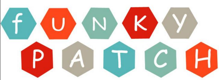 funky patch logo