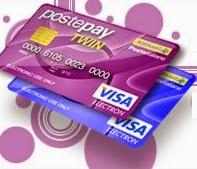 Con le carte Postepay Twin è possibile inviare denaro in tutto il mondo