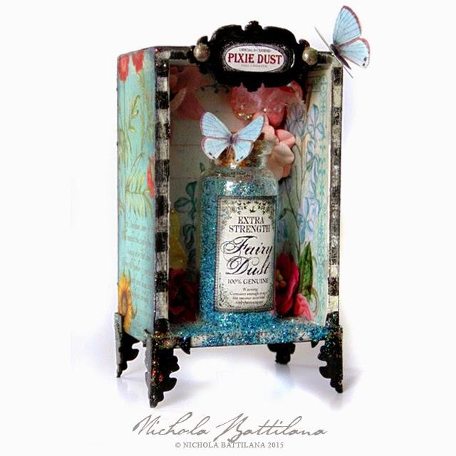 Fairy Dust Shrine with video tutorial - Nichola Battilana