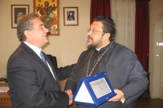 Συνάντηση Τ. Αποστολόπουλου με τον Μητροπολίτη Μεσσηνίας !!