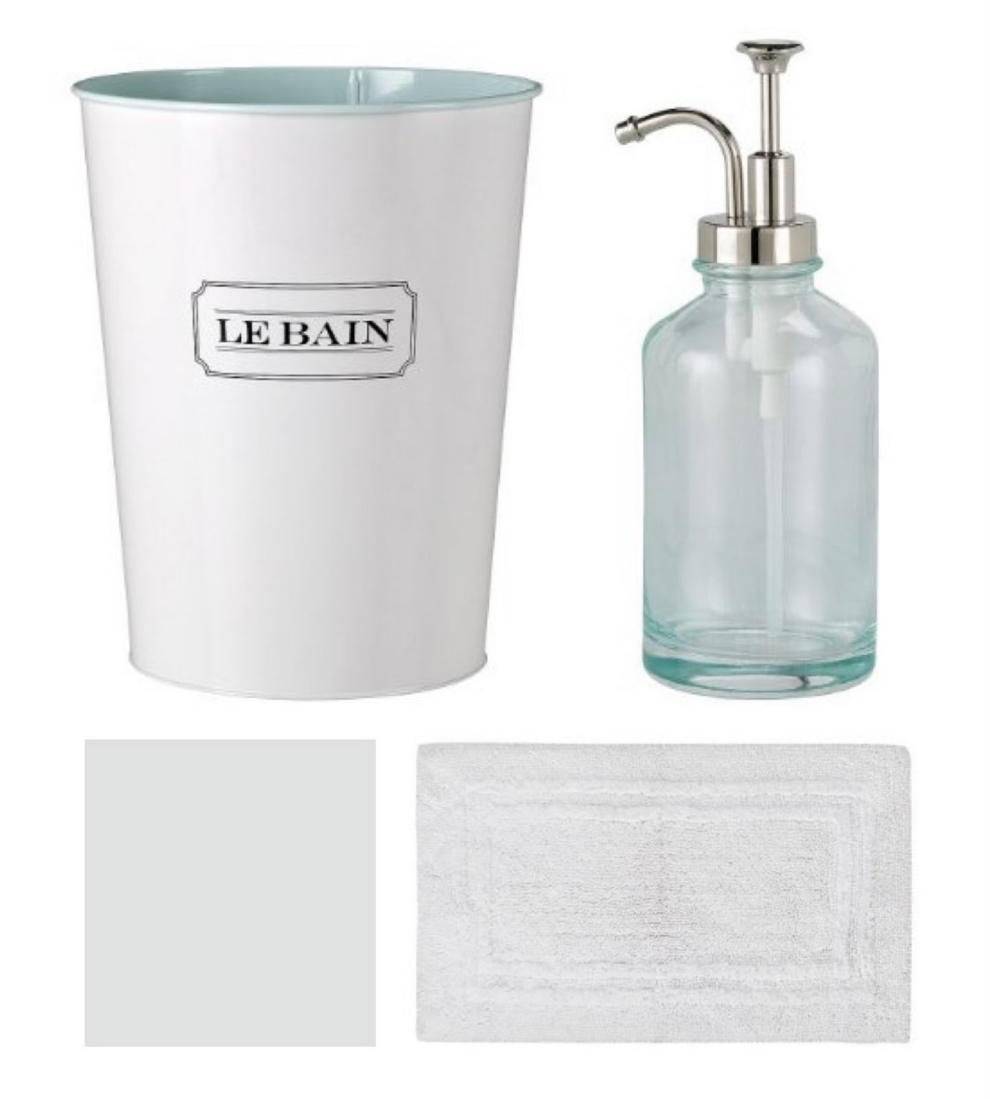 Bathroom Accessories - Coordinately Yours by Julie Blanner
