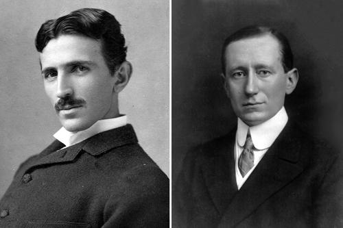 Tesla and Marconi