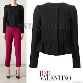 Princess Sofia style Red Valentino Peplum Style Jacket