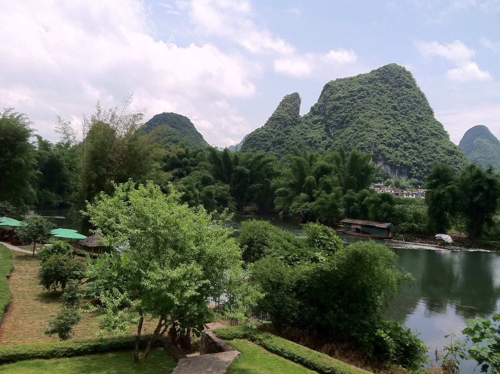 Yangshuo China Rivers And Karst Mountains A Short
