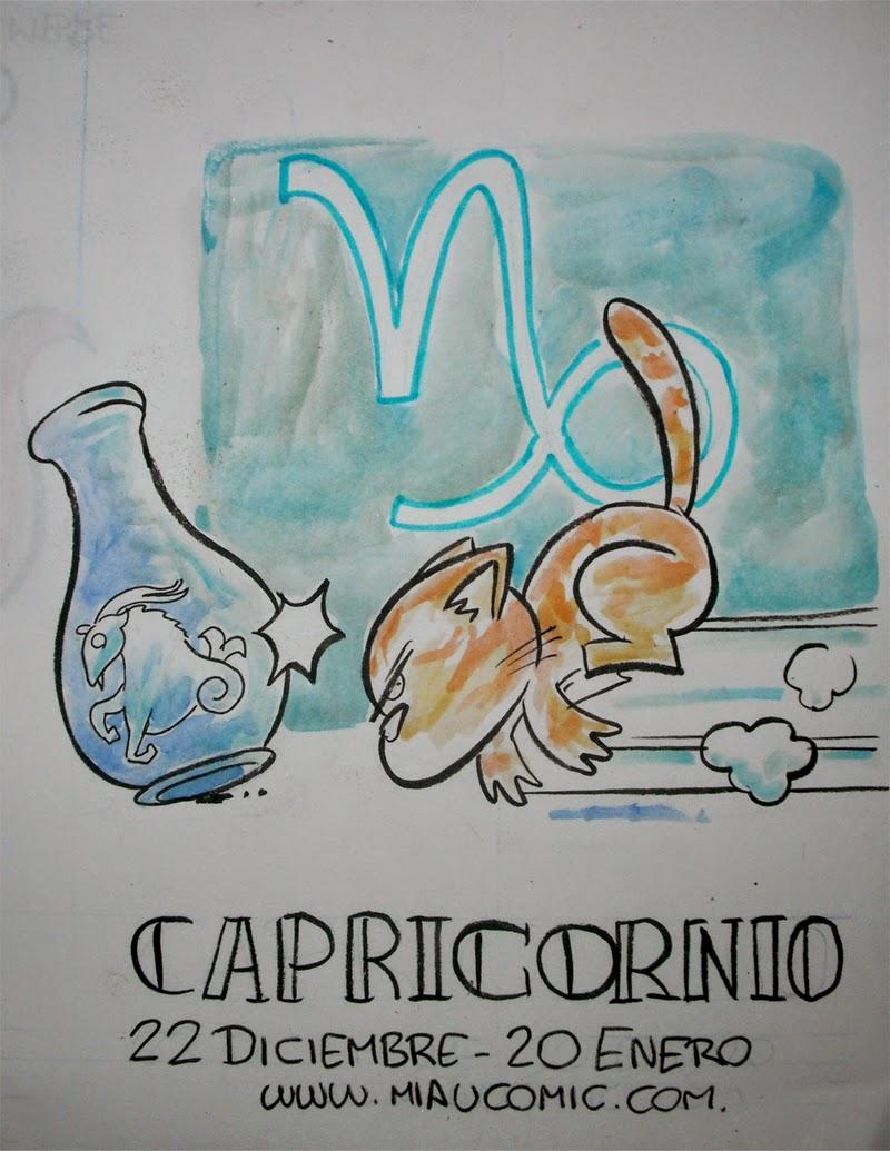 Zodiaco Gatuno signo de Capricornio