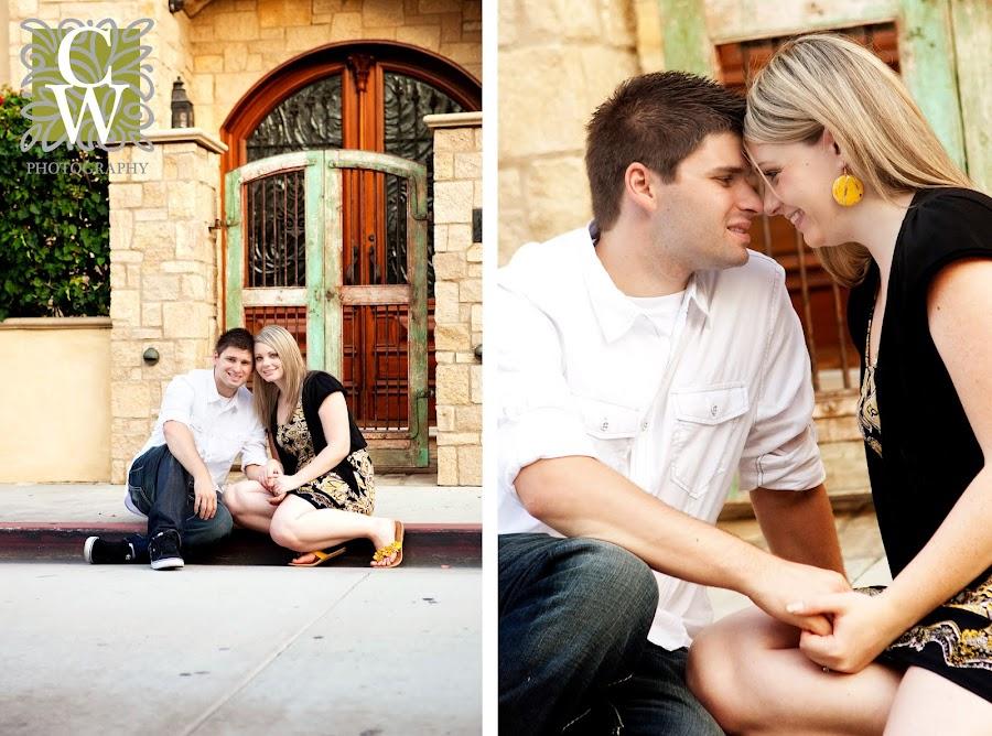 Engagement portrait Balboa Pennisula