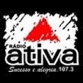 ouvir a Rádio Ativa FM 107,3 Pitangui MG