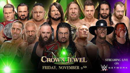 Poster Of WWE Crown Jewel 2nd November 2018 HDTV 480P 300MB