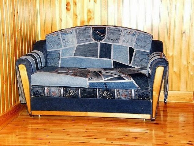 Мастер-классы из старого дивана