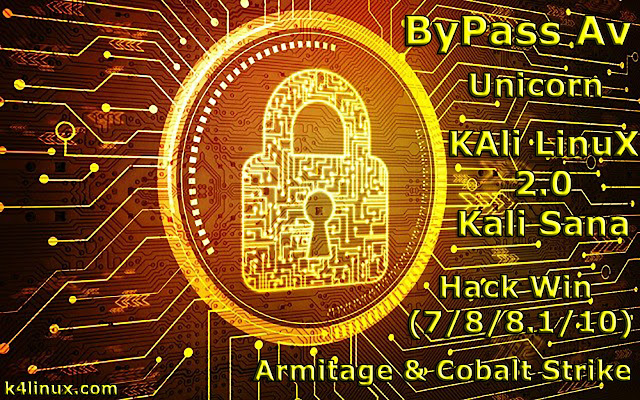 How to hack windows computers and bypass av using kali linux 2.0 with armitage cobalt strike and unicorn