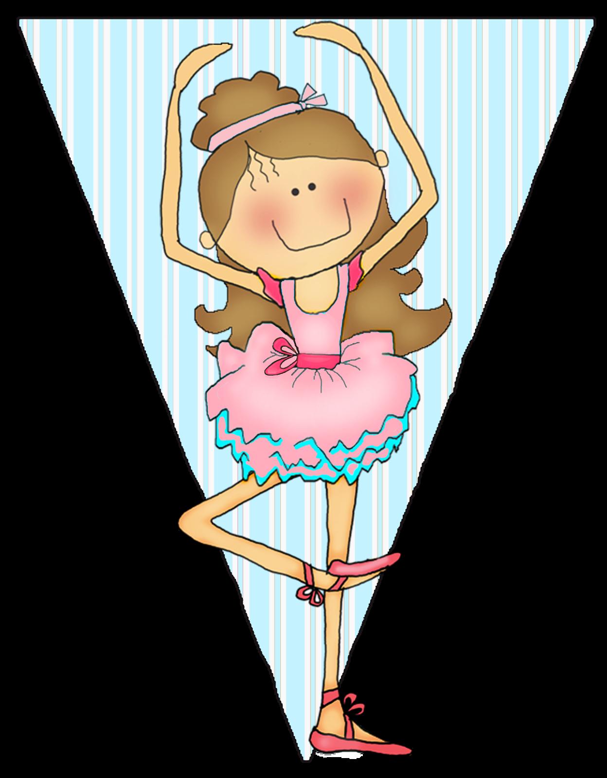 Ballerina dancing.