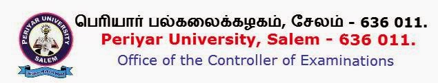 Periyar University Nov, Dec 2014 Results