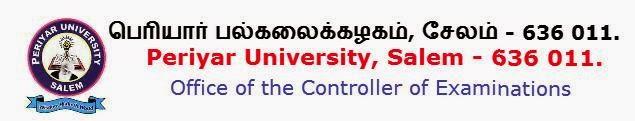 Periyar University Nov, Dec 2014 Results