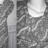 Cara pembuatan batik Indonesia dengan ikat celup