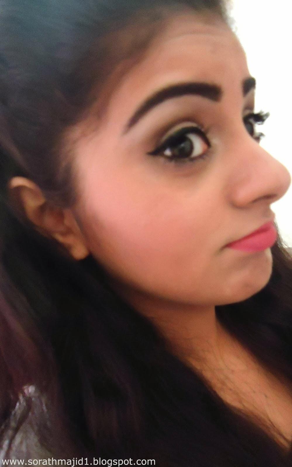Ariana Grande Inspired Hair Makeup Look