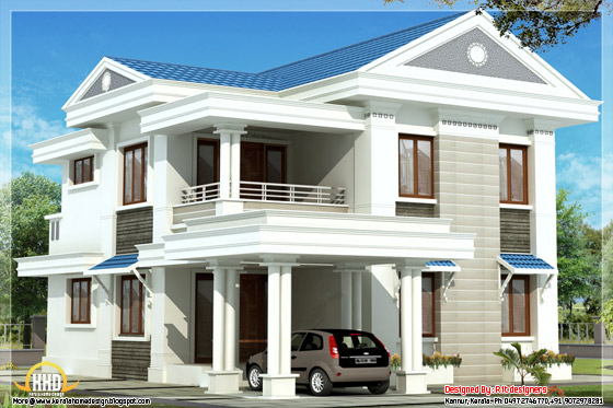 beautiful blue roof home design 1570 sq ft kerala home design rh indiankeralahomedesign blogspot com