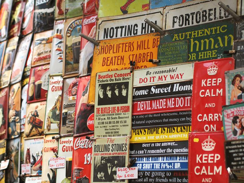 portobello market posters
