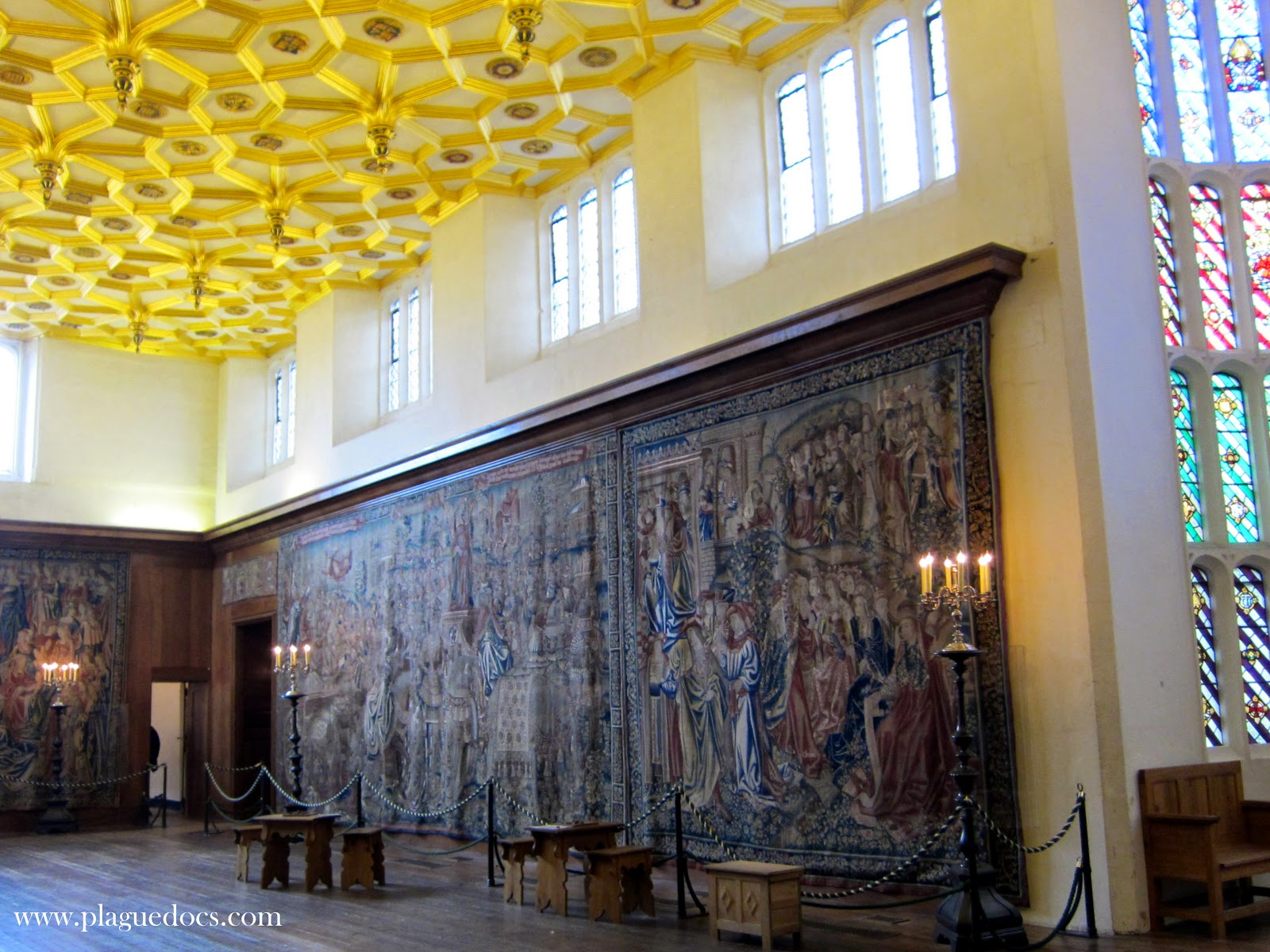 Hampton Court Palace, The Great Watching Chamber