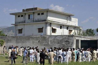 NO SHRINE FOR OSAMA BIN LADEN, DEMOLISH HIS DEATH HOME NOW!