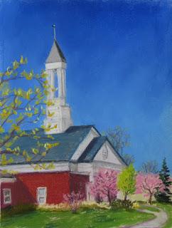 Kathy Schifano, Beaver Island Casino painting