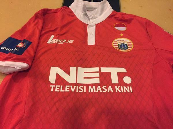 gambar jersey persija home terabru net tv musim depan 2015/2016 kualitas grade ori made in thailand