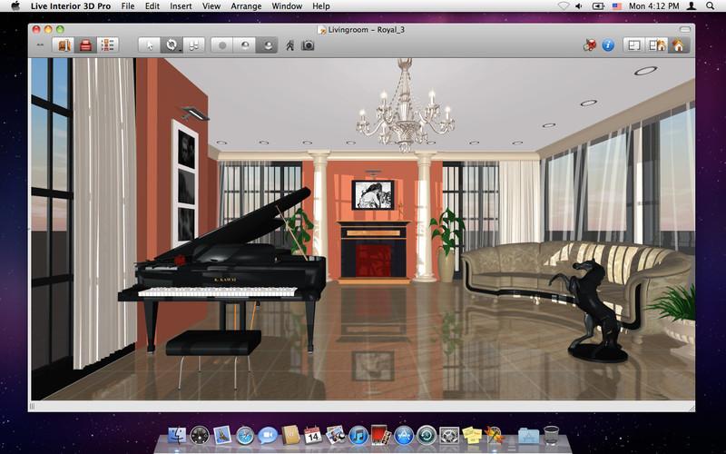 Dise o de interiores live interior 3d pro subcutaneo for Programa de diseno interiores
