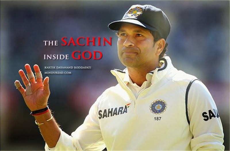Why is Sachin Tendulkar called god? Kartik Dayanand Boddapati - Mind u Read