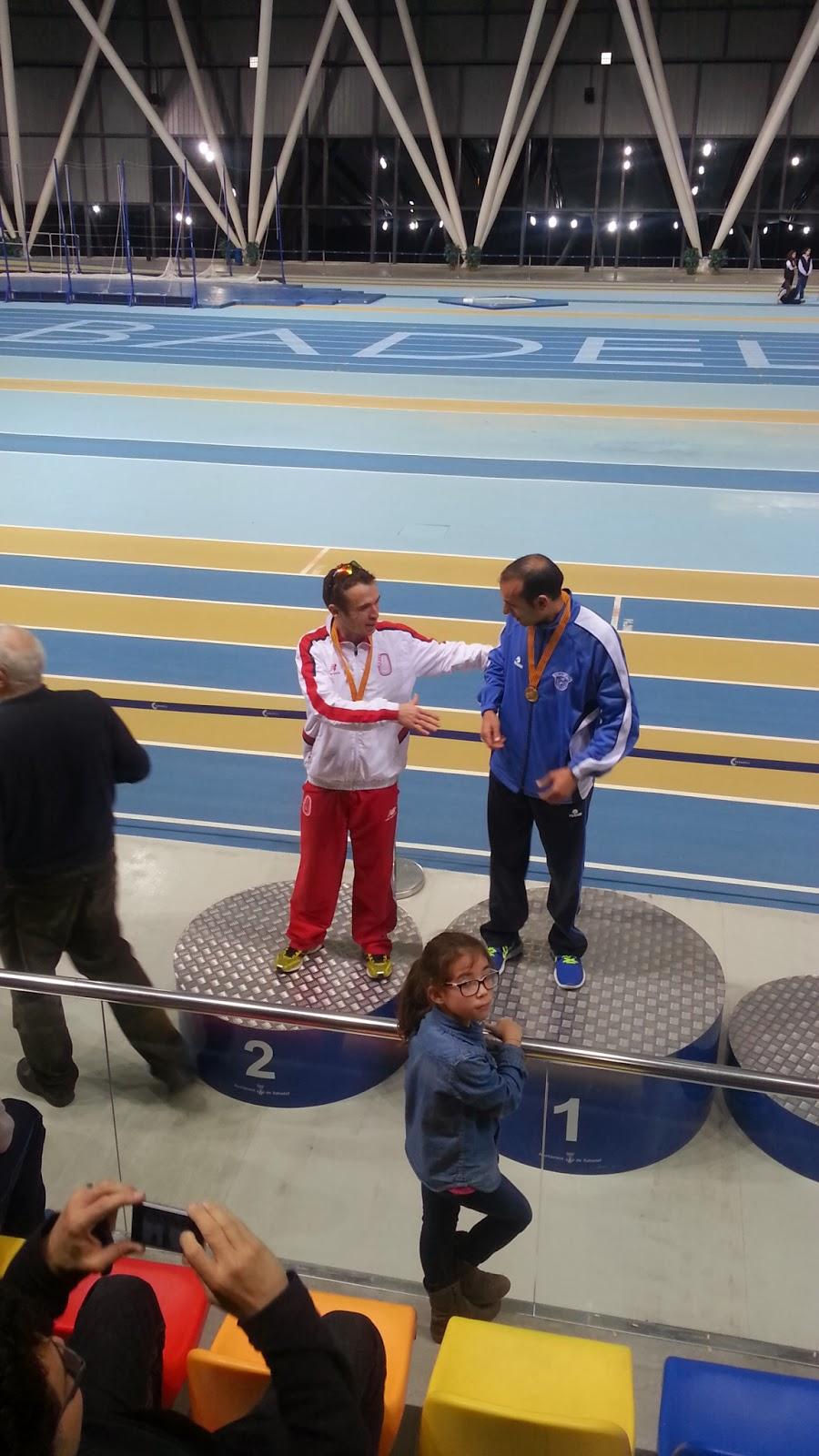 Saludando al campeón JoseLuis MuñozTorrero