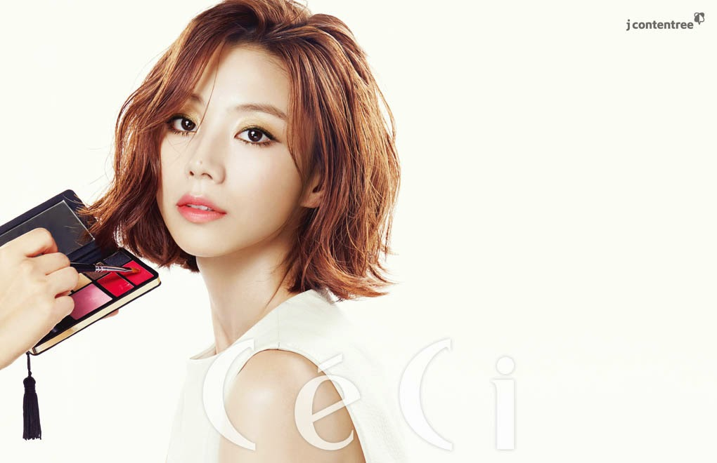 Park Soo Jin - Ceci Magazine November Issue 2014
