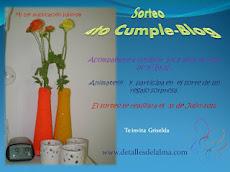 Sorteo 4º cumple-blog Griselda