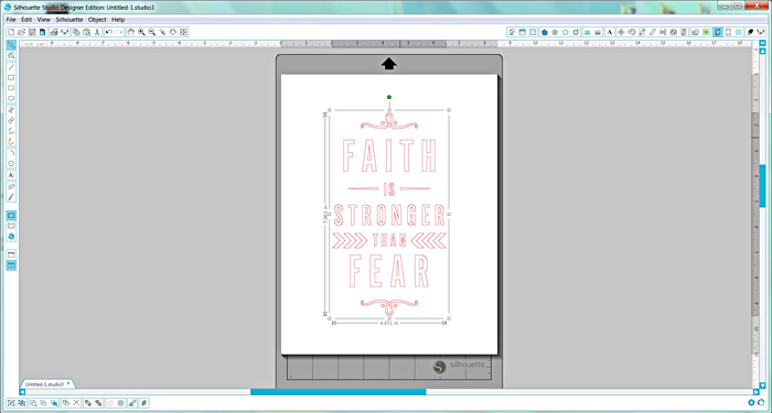 Heather Greenwood Designs | using #SilhouetteAmerica fabric interfacing in a #mixedmedia project as adhesive backed paper to iron onto deli paper and insert in my #IllustratedFaith #JournalingBible #artworship