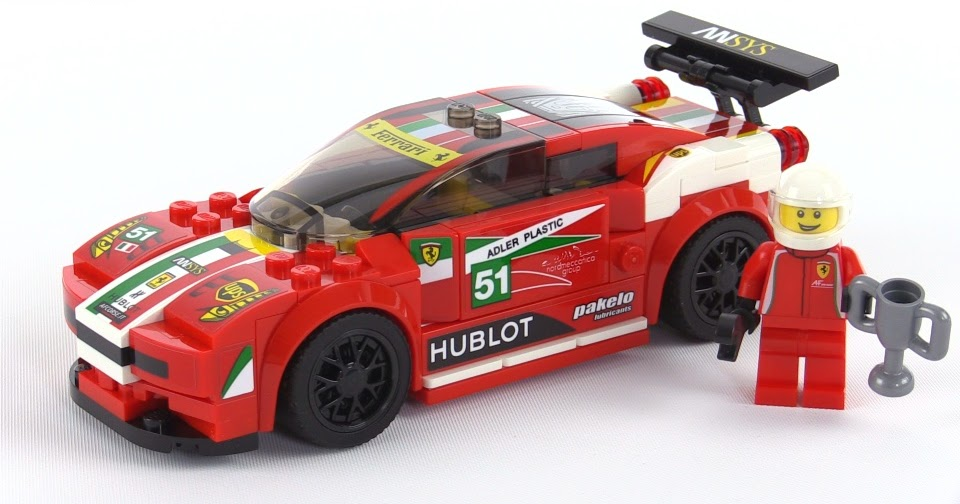 lego speed champions ferrari 458 italia gt2 review set 75908. Black Bedroom Furniture Sets. Home Design Ideas
