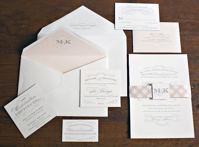 Chicago Trump Hotel Wedding Invitation