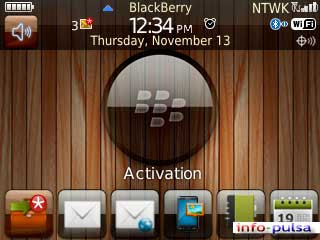 Wood - BlackBerry Theme