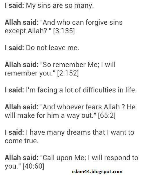 trust nobody but allah