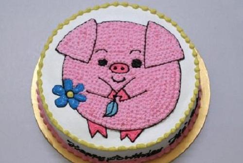 Bánh sinh nhật hình con heo