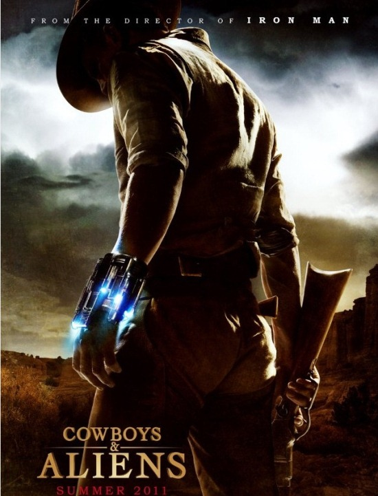 download cowboy and aliens movie poster