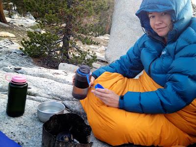 Camping at Bench Lake