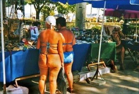 Ο Χριστός και η Παναγία! Ποια βγήκε με αυτό το μαγιό στην παραλία;;; Δείτε και βγάλτε συμπεράσματα!!!